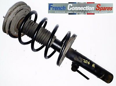 Peugeot 206 Front Suspension Leg Shock Absorber & Coil Spring R/h/side