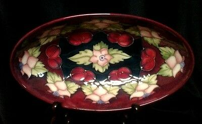 "MOORCROFT  ""Morello Cherry"" Bowl  23cm/9""  1st Quality   Limited Edition"