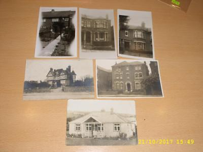 Houses  - Collection Of Vintage Photo  Postcards