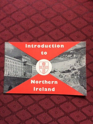 HMSO booklet Introduction to Northern Ireland 1958