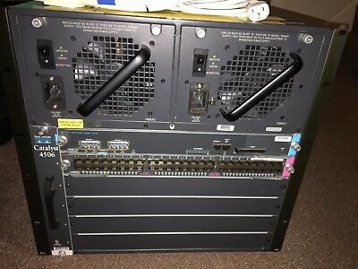 Cisco 4506 (WS-C4506) Modular Chassis