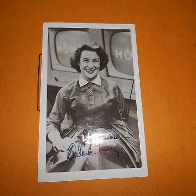 Arlene Francis was an American actress, radio & television Hand Signed Photo
