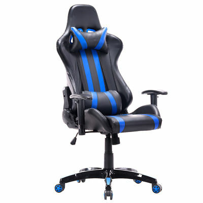 Executive Racing Style High Back Reclining Chair Gaming Chair Office Computer ne