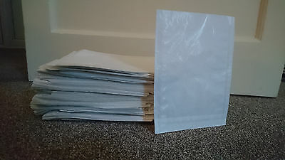 """500 Plus Photographic Clear Face Bags 5.5"""" X 7.5"""" Approx"""
