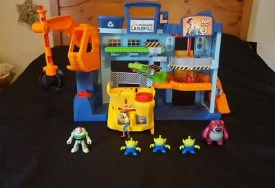 Imaginext Toy Story Landfill Figures Buzz Lightyear Lotso Aliens etc Playset