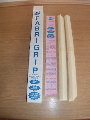 """fabrigrip"" Fabric Stretching Kit For Needlework Framing With Instructions"