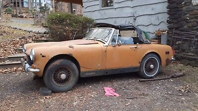 1972 MG midget- parts and body