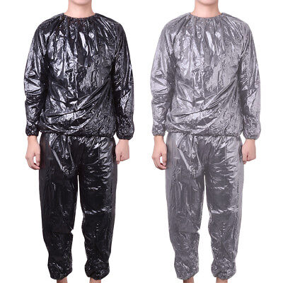 Heavy Duty Sauna Suit Sweat Gym Training Fitness Exercise Fat Burn Weight Loss