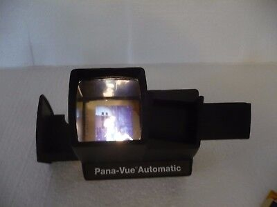 PANA-VUE AUTOMATIC  2 INCH ( 5CM) x 2 INCH  SLIDE VIEWER/ TESTED/GOOD CONDITION