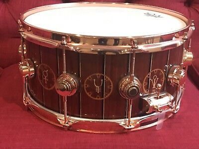 DW Time Machine Rush Neil Peart Snare