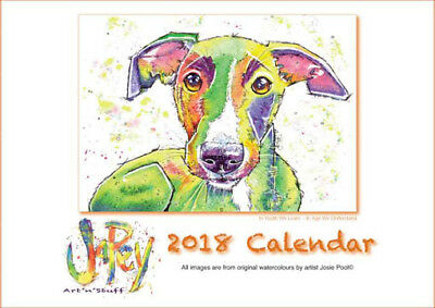 SightHound Calendar 2018 available NOW...!!!
