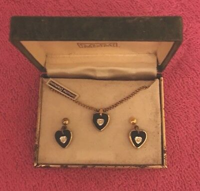 Vintage Jewelry Set Diamonds 50's