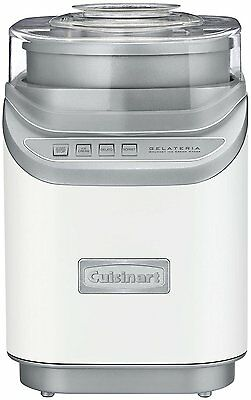 CUISINART Cool Creations Ice Cream Maker, White