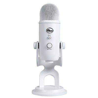 Blue Microphones Yeti USB Microphone - Whiteout