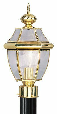 Monterey 1-Light European Gold Post Light