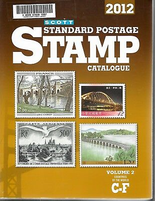 2012 Scott Standard Postage Stamp Catalogue - Volume 2 - Countries C-F