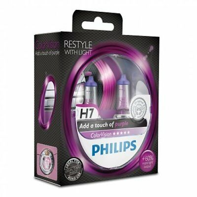 Philips H7-Color Vision Pink 12972Cvpps2