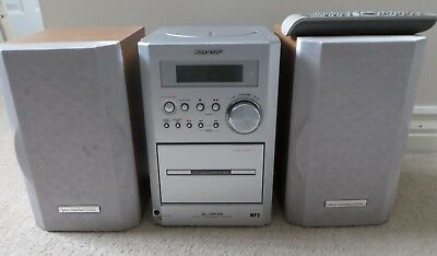Sharp XL-MP35H MP3 Micro Component Stereo System CD CASSETTE MP3