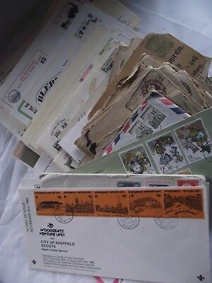 Job Lot (Mixed)  100+ FDCs and Covers - Various Ages, Countries & Topics(LOT E)