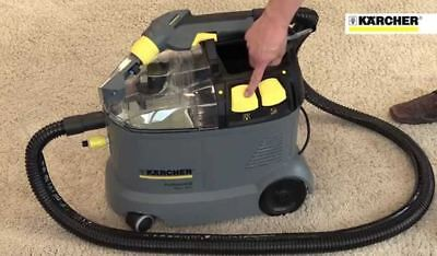 NEW Karcher Carpet Extractor Cleaner Shampoo Cleaning 2 Gal Oz Light Compact