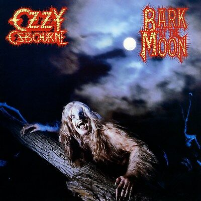 Ozzy Osbourne Bark At The Moon 12x12 Borderless Album Art Print Replica