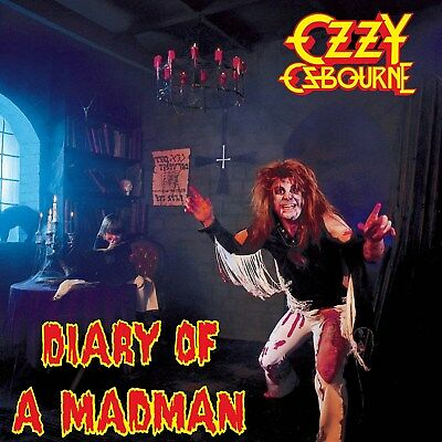 Ozzy Osbourne Diary Of A Madman 12x12 Borderless Album Art Print Replica