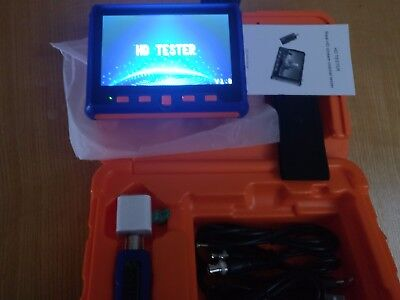 "5"" HD 1080P Tester Monitor TVI CVI AHD VGA CVBS CCTV Camera Test LCD Screen 2MP"