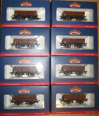 Bachmann 13T High Sided Open Wagon BR Bauxite (late) Collection Job Lot 38-326
