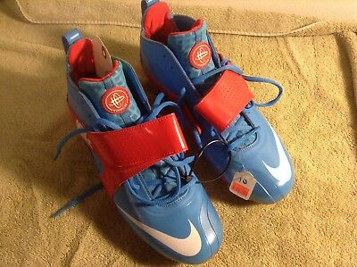 Nike Mens' Huarache III LAX Supportive Shoe Cleat for Lacrosse Football Size 10
