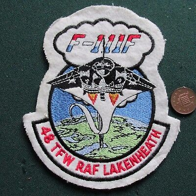 Us Air Force Patch (48 Tfw Lakenheath)