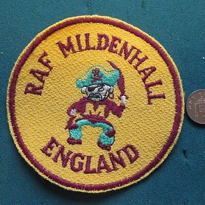 Us Air Force Patch (Raf Mildenhall)