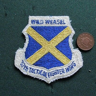 Us Airforce Patch (37 Tfw) Wild Weasel