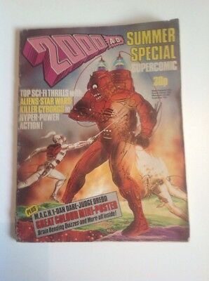 2000 AD Comic Summer Special Issue circa 1977.