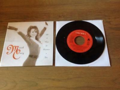 Mariah Carey All I Want For Christmas Is You   45 rpm