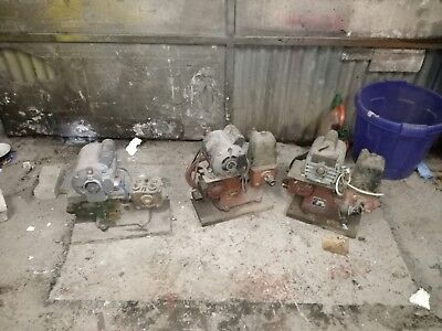 Lister Water Pumps X3 With Electric Motors