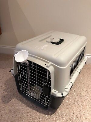Large Pet Travel Carrier Transport Box Cage Kennel– For Dog Puppy Cat Kitten
