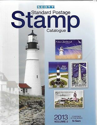 2013 Scott Standard Postage Stamp Catalogue - Volume 5 - Countries N-Sam