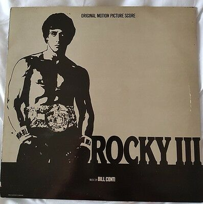 Rocky III original motion picture soundtrack 12inch vinyl manufacturers copy