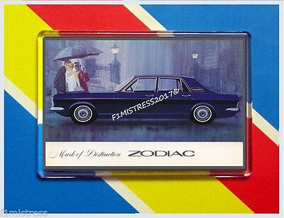 Ford Zodiac Mk 4  New Jumbo  Fridge / Locker Magnet