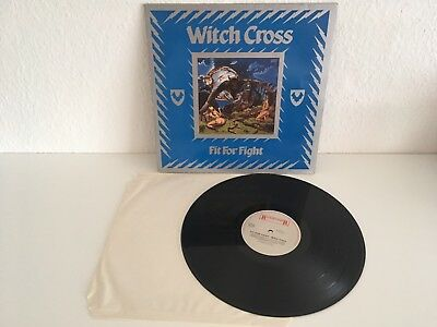 Witch Cross LP Fit for Fight 1984 Roudrunner Original