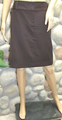 3992c03856d NWT Women s Express Fall Espresso Brown Animal Print Lined Pencil Skirt Size  12