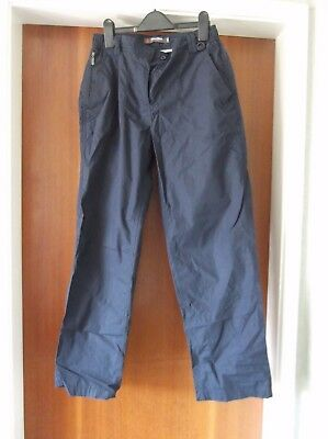 Ladies Peter Storm Walking Trousers - Blue size 10 S, very good condition