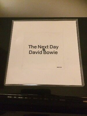 David Bowie - The Next Day - Square White Vinyl - Single - As New.