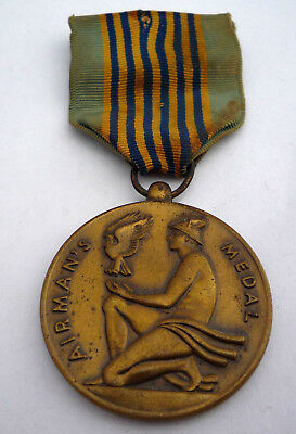Genuine Usa Airmans Medal For Valour With Makers Mark