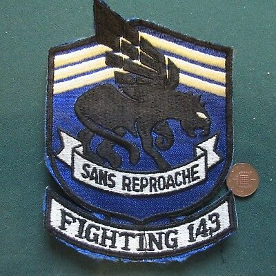 Us Airforce Patch (Fighting 143)