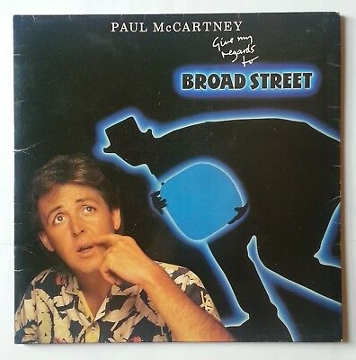 Paul McCartney - Give My Regards To Broad Street - Original 1984 Vinyl Album