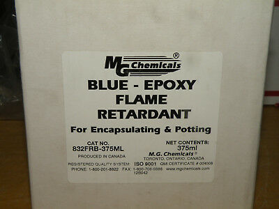 MG Chemicals 832FRB-375ml Flame Retardant Blue Epoxy Kit