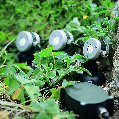 OASE LunAqua Mini LED 3 Neutral White LED-Lights Set Light Garden 50512