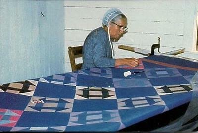 Amish Lady Quilting  PC