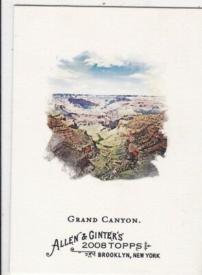 2008 Topps Allen & Ginter The Grand Canyon Trading Card Colorado River